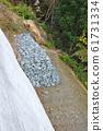 Gabion construction method of slope 61731334
