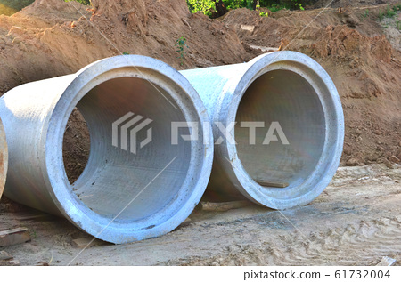 Laying or replacement of underground storm sewer 61732004