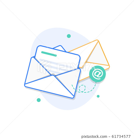 Email and messaging,Email marketing campaign 61734577
