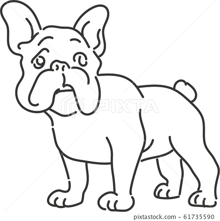 French bulldog line only 61735590