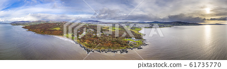 The life boat station is located north of the town Buncrana in County Donegal - Republic of Ireland 61735770