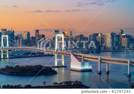 從八ita看到的彩虹橋的魔幻時刻[東京] 61747243