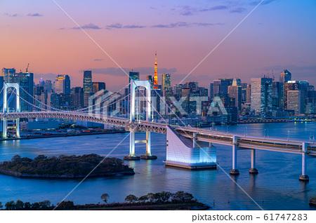 ชั่วโมงแห่งสะพานสายรุ้งที่เห็นได้จาก Hachitama [โตเกียว] 61747283