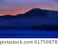 冬天的雪景 61750978