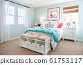 Interior of A Beautifully Decorated Bedroom 61753117