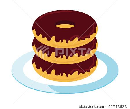 Donut chocolate sweets 61758628
