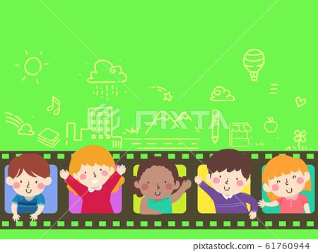 Kids Film Story Illustration 61760944
