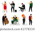 Jazz people set 61778334