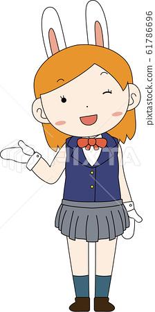Anime art nerd girl Megan Thee