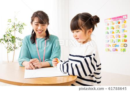 아이들과 선생님 유아 교육 61788645