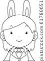 코스프레 애니메이션 캐릭터 오타쿠 만화 귀여운 표정 포즈 희로애락 61789651