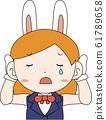 코스프레 애니메이션 캐릭터 오타쿠 만화 귀여운 표정 포즈 희로애락 61789658