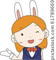 코스프레 애니메이션 캐릭터 오타쿠 만화 귀여운 표정 포즈 희로애락 61789669