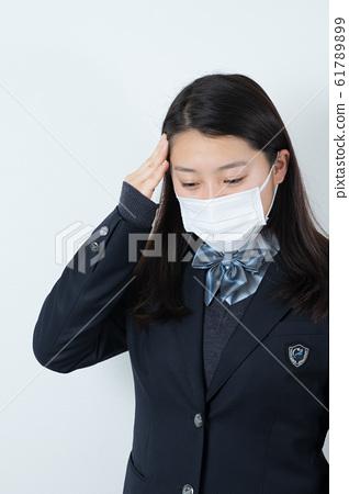 女學生製服制服面具 61789899