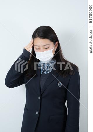 女學生製服制服面具 61789900