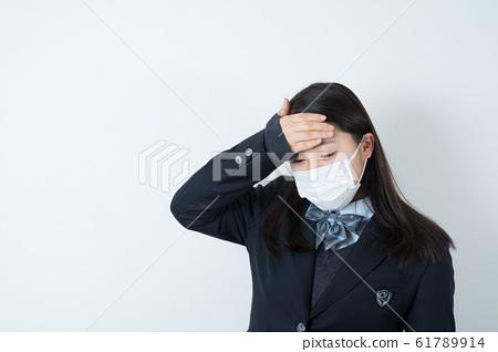 女學生製服制服面具 61789914