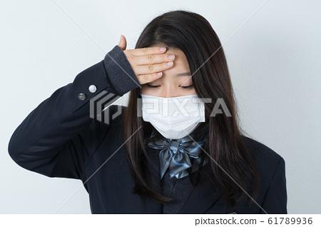女學生製服制服面具 61789936