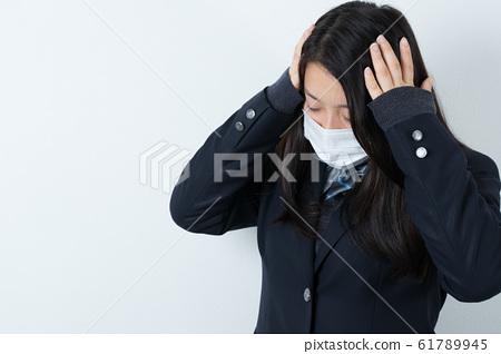 女學生製服制服面具 61789945