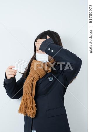 女學生製服制服面具 61789978