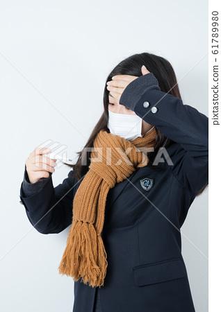 女學生製服制服面具 61789980