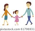 夫妻和女孩 61796931