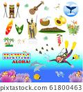 夏威夷圖標旅遊勝地美食3 61800463