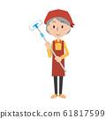 청소 대청소 여성 주부 집안일 청소 바닥 와이퍼 수석 할머니 노인 여성 61817599