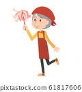 청소 대청소 여성 주부 집안일 청소 먼지 떨이 수석 할머니 노인 여성 61817606