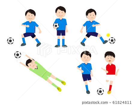 남자 축구 세트 61824811