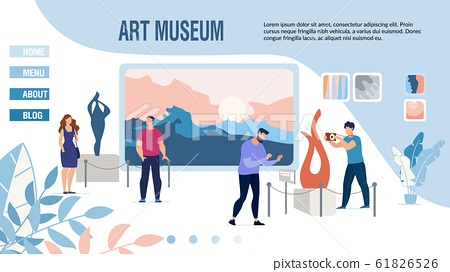 Landing Page Inviting to Museum of Modern Art 61826526