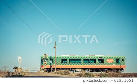 莫卡鐵路道口和西瓜火車 61831051