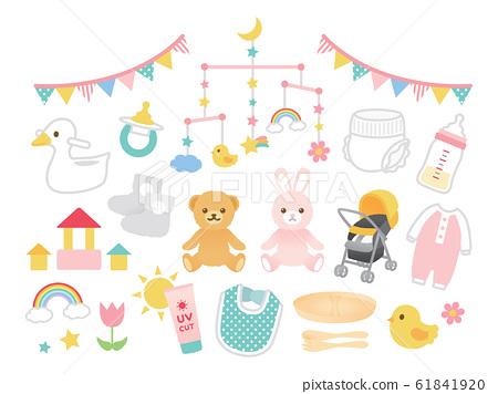 婴儿婴儿用品插图 61841920