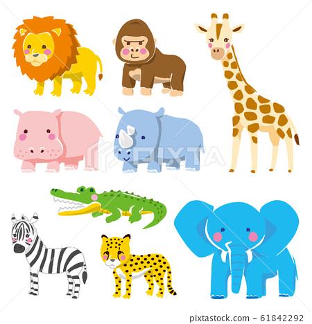 各種動物的插圖 61842292