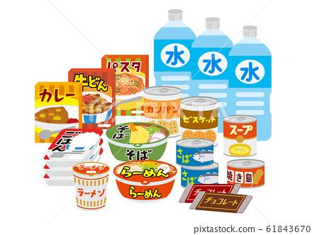 庫存應急食品 61843670