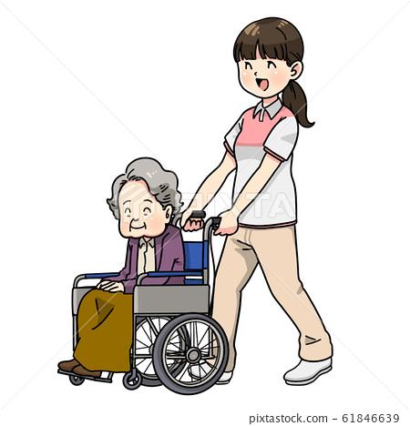 輪椅援助 61846639