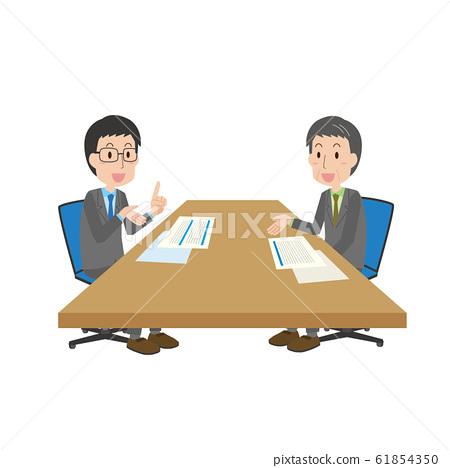 영업 판매 영업 설명 상담 61854350
