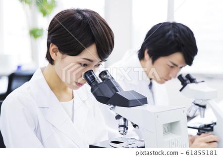 研究顯微鏡科學科學實驗 61855181