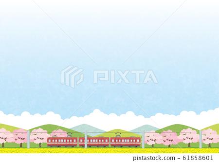 Japanese background 61858601