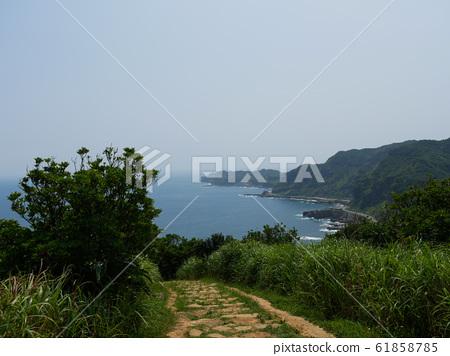 난징 트레일, 대만 노스 코스트의 바다 전망 61858785