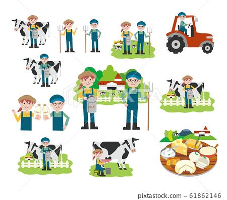 牧場乳製品套裝 61862146