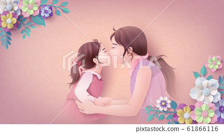 Happy Mother's day greeting card 61866116
