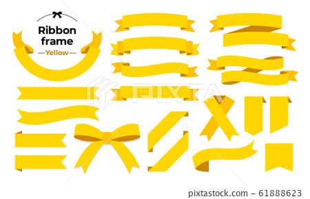 色帶框黃色 61888623