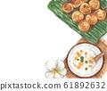 泰國 水彩畫 水彩 61892632
