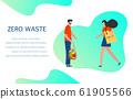 Eco friendly lifestyle Zero waste Reusable bags 61905566