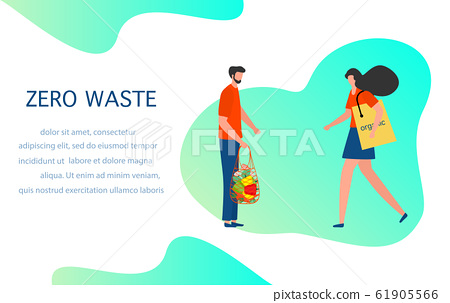 Eco friendly lifestyle Zero waste Reusable bags - Stock Illustration  [61905566] - PIXTA