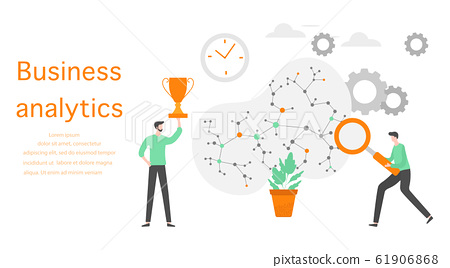 Business analytics finance growth strategy People 61906868