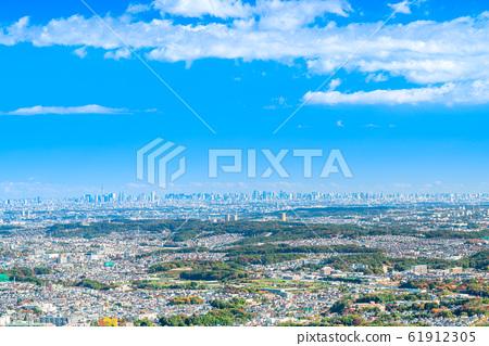 도쿄 카오산에서의 전망 (도쿄 타워 스카이 트리 방면) 61912305