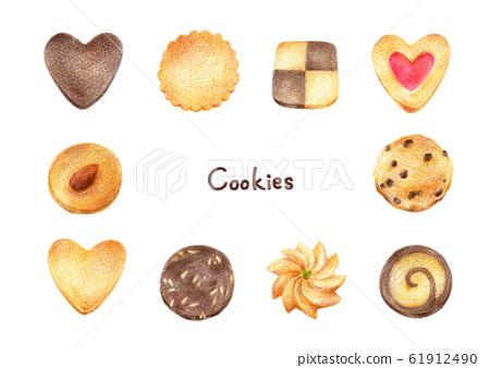 쿠키 세트 61912490