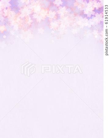 배경 - 그라데이션 - 일본 - 종이 - 일본식 - 일본식 디자인 - 봄 - 보라색 61914533
