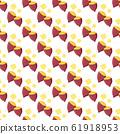 Sweet potato pattern illustration 61918953
